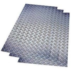 Лист рифленый 5 мм 1.25x6 м