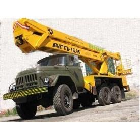 Оренда ліктьової автовишки ВС-22 на базі ЗІЛ 130 200 кг 22 м
