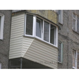 Ремонт аварийного балкона под ключ