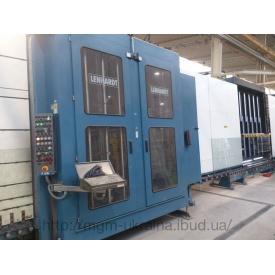 Стеклопакетная линия Lenhardt 2300*3500 с газ прессом