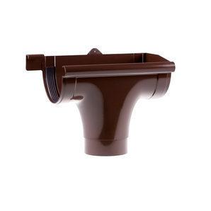 Лійка права Profil 90/75 мм коричнева