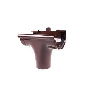 Воронка проходная Profil 90/75 мм коричневая