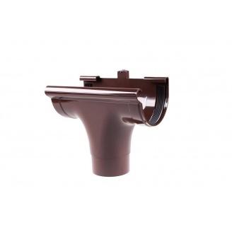 Воронка проходная Profil 130/100 мм коричневая