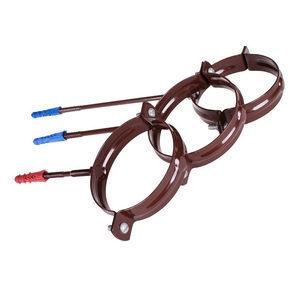 Тримач труби металевий Profil L160 90 мм коричневий