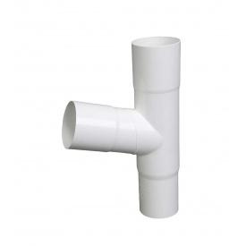 Трійник Plastmo 60 градусів 75 мм