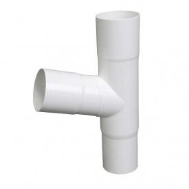 Трійник Plastmo 60 градусів 90 мм