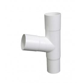 Трійник Plastmo 60 градусів 110 мм