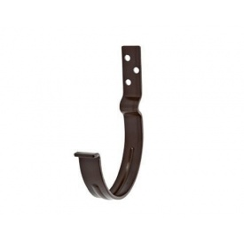 Кронштейн ринви короткий АКВАСИСТЕМ 125 мм металевий