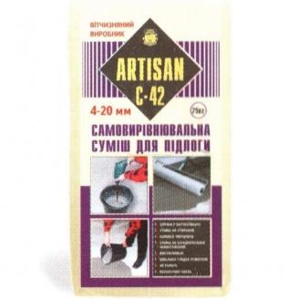 Самовыравнивающая смесь для пола Artisan С-42 25 кг