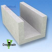 Газобетон стіновий лотковий Stonelight D500 200*500 мм