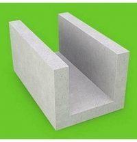 Газобетонний U-блок Стоунлайт 500х200х375 мм 1 сорт