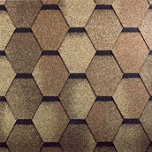 Битумная черепица Tegola Mosaic Кедр 1000х337 мм