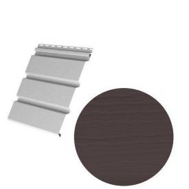 Сайдинг вініловий Royal Europa Royal Soffit brown 3660х340 мм