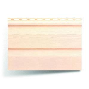 Сайдинг вініловий Альта-Профіль Alta-Siding двухпереломний 3660х230х11 мм рожевий