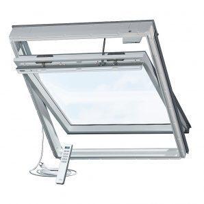Мансардное окно VELUX GGU 0073 INTEGRA P06 деревянное 94х118 см
