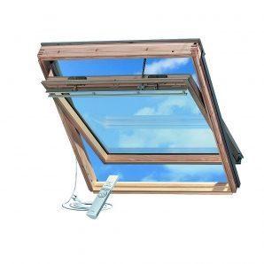 Мансардное окно VELUX GGL 3073 INTEGRA F04 деревянное 66х98 см