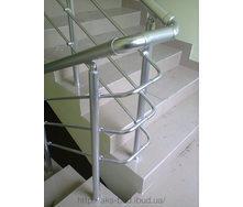 Перила алюминиевые с заполнением алюминиевыми трубками 16 мм