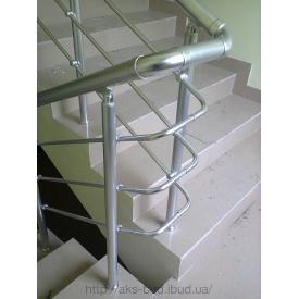 Перила алюмінієві із заповненням алюмінієвими трубками 16 мм