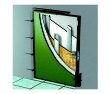 Плита огнезащитная для изоляции дверей ТехноНИКОЛЬ 110 1200x1200 мм