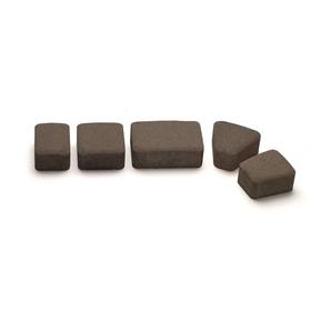 Тротуарная плитка Авеню Римский Камень К-6 графит 109х118х60 мм