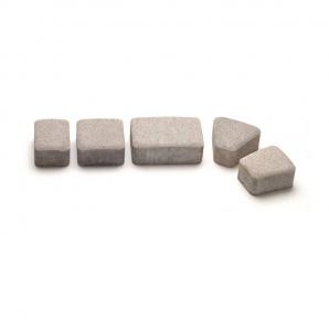Тротуарная плитка Авеню Римский Камень К-6 серая 109х118х60 мм