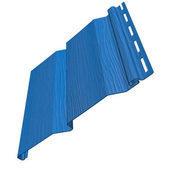 Виниловый сайдинг FineBer FineWood Industrial синий 3660*205 мм