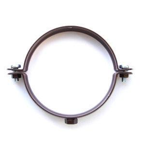 Держак труби пластиковий Profil L160 90 мм коричневий