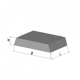 Фундаментная подушка ФЛ 8.24-2 ТМ «Бетон от Ковальской»
