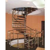 Лестница винтовая из нержавеющей стали