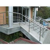 Перило для сходів з нержавіючої сталі