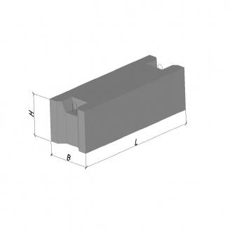 Фундаментный блок ФБС 12.5.6Т В12,5