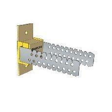 Віброізолююче стінове кріплення Шуманет-коннект КС з прямим підвісом