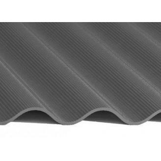 Шифер 8-волновой 5,8x1130x1750 мм серый
