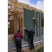 Зовнішнє утеплення фасаду вітрозахисними плитами Isoplaat 12 мм