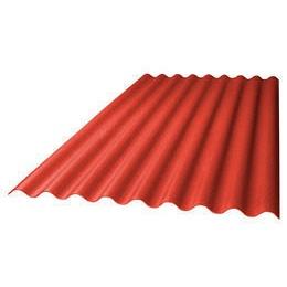 Кровельный лист Керамопласт 4,5x870x1880 мм красный