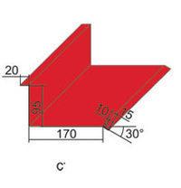 Планка стыка Арсенал-Центр ПС-1 95х170 мм