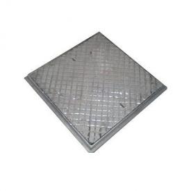 Люк чавунний каналізаційний квадратний ЛК 590х590 (1.05)