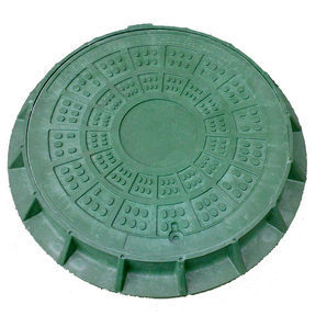 Люк легкий полимерпесчаный (А15) 1 т (03093)