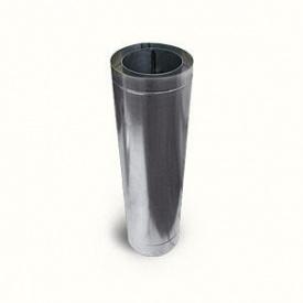 Труба дымохода в кожухе из нержавейки 220x1000 мм