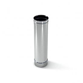 Труба для дымохода из нержавеющей стали 430 300х1000 мм 0,8 мм