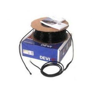 Нагрівальний кабель двожильний DEVI DEVIsafe ™ 20T 1000 Вт