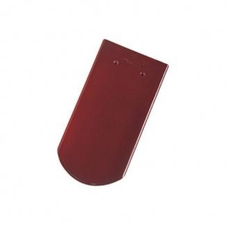Черепица керамическая Tondach Бобровка ОК Словения 400х190 мм вишневая