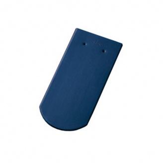 Керамическая черепица Tondach Бобровка ОК Словения 400х190 мм синяя
