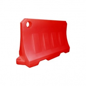 Блок дорожній Імпекс-Груп водоналивний 480х800х1200 мм червоний