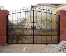 Металлические входные ворота
