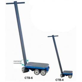Управляемая роликовая тележка СТВ-6 8 т 400*230*115 мм