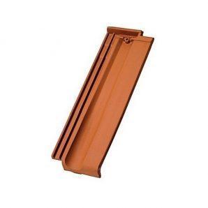 Черепица керамическая половинчатая Tondach Границе-11 Чехия 160х465 мм натур