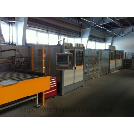 Центр распила и обработки ПВХ профиля Schirmer BAZ 100-G 6/Tandem+VU/30-150 градусов