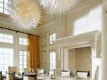 Дизайн интерьера большой столовы