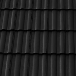 Черепиця керамічна вентиляційна Tondach Твіст Угорщина 300х500 мм чорна